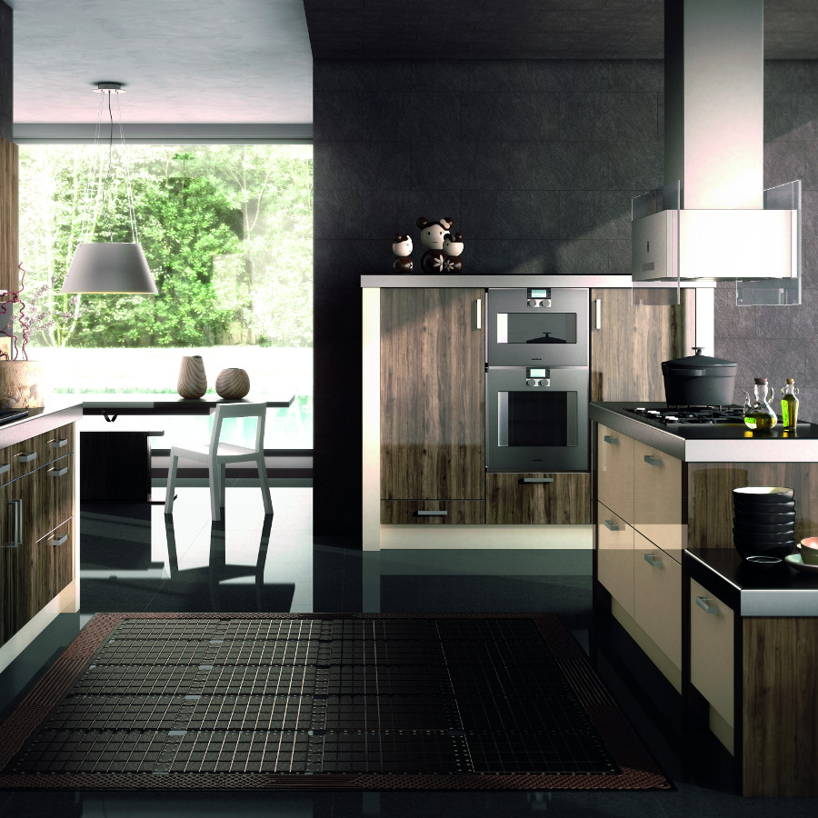 Phoenix mira cosa and gloss cream kitchens direct ni for Kitchens direct