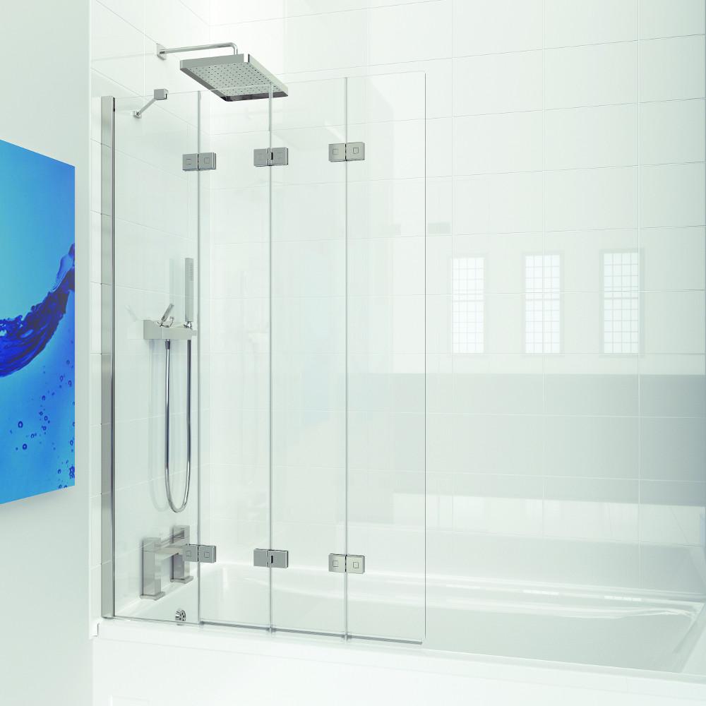 Kudos Inspire 4 Panel Closed Shower Enclosure Kitchens
