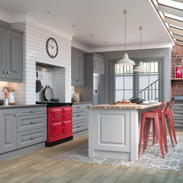 Danbury Dust Grey Light Grey Kitchens Direct Ni