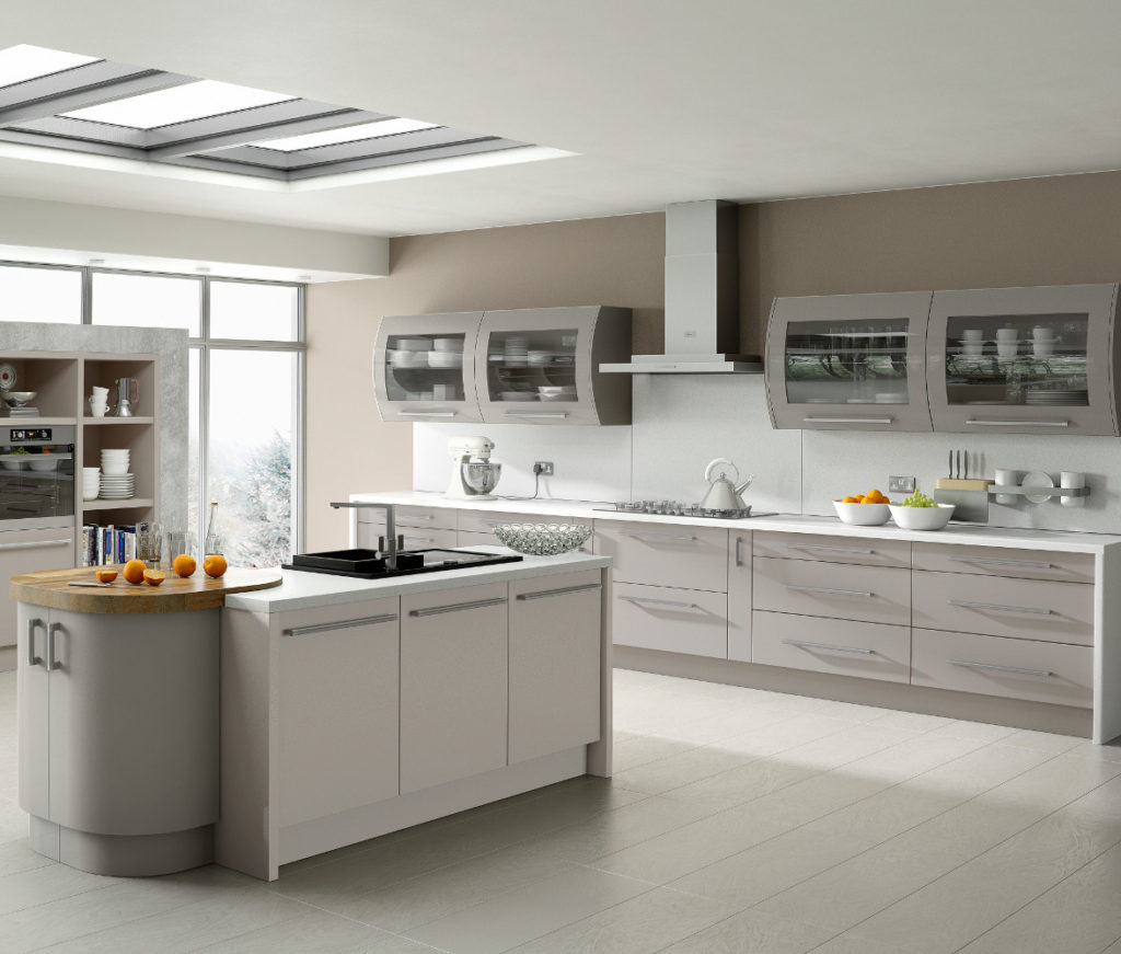 Duleek matt kashmir stone grey kitchens direct ni for Kitchen designs in kashmir