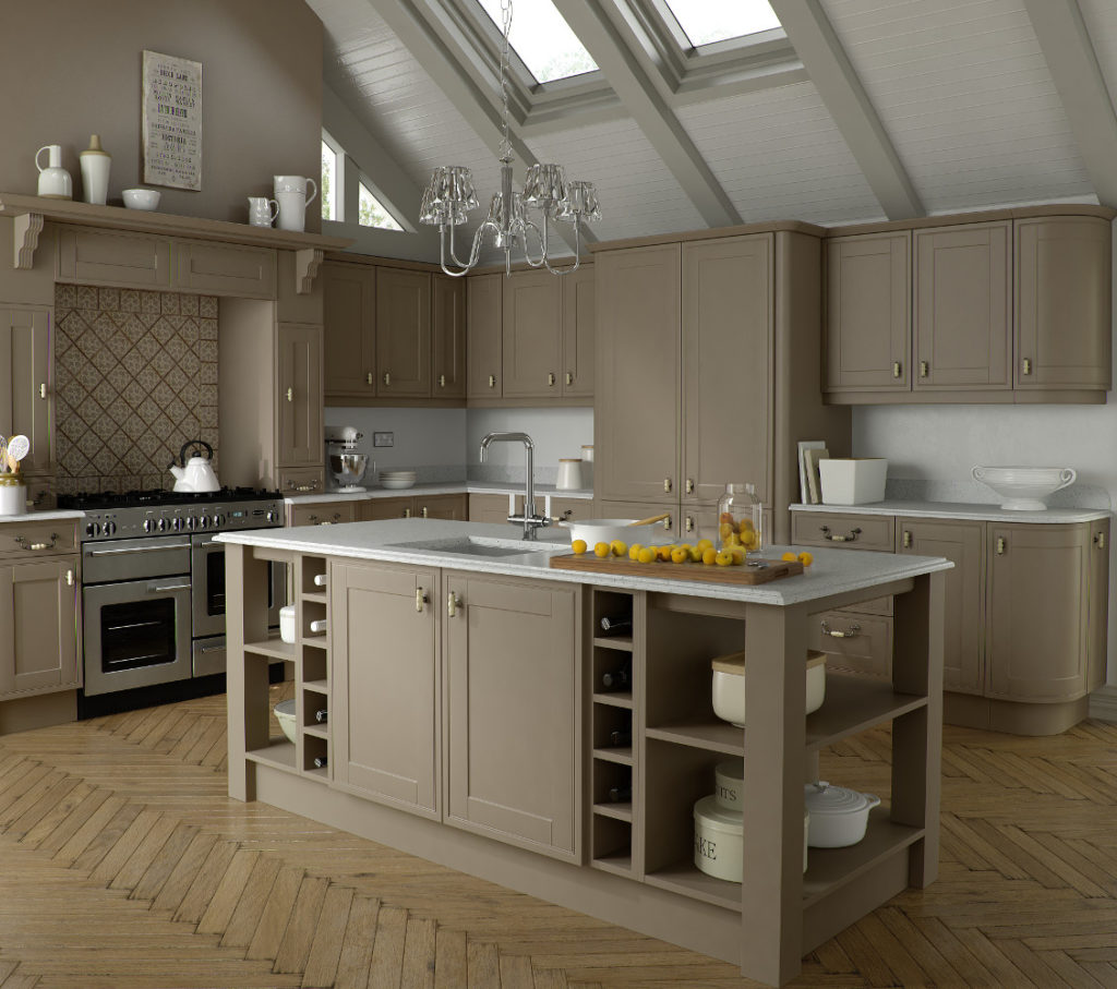 Ruskin stone grey kitchens direct ni for Kitchens direct