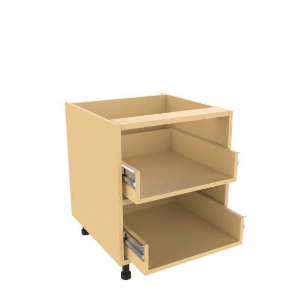 Drawer type c 2 large drawer unit kitchens direct ni for 600 kitchen drawer unit