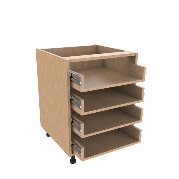 Drawer type a 4 drawer unit kitchens direct ni for Kitchen drawer unit sizes
