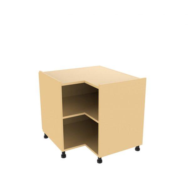 Corner base unit l shaped and diagonal kitchens direct ni for Cream kitchen base units