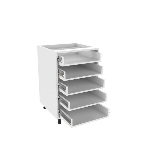 Drawer type b 5 drawer unit kitchens direct ni for 600 kitchen drawer unit